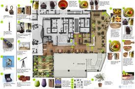 100 floor plan for hotel main building lobby level floor