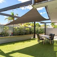 Sail Patio Cover Patio Sun Screen Material Home Outdoor Decoration