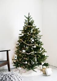 christmas tuscan decorated artificialmas tree live trees