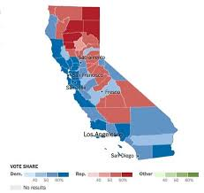 2016 Election Map California County Map 2016 Election Kemerovo Me