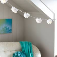 white string lights chrysanthemum string lights pbteen