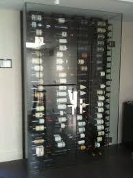 Wine Cellar Wall - glass enclosed wine storage rack google search wine room