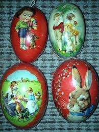 german paper mache easter eggs 212 best lithograph german egg candy containers images on