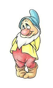 draw bashful from the seven dwarfs dwarf disney s and snow white