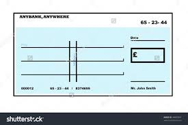clipart blank check free dummy templ ptasso checks template fake
