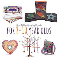 crafty gift ideas for the 8 to 10 year on your list
