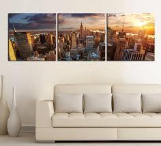 large wall art canvas print new york city panorama skyline
