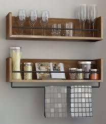 floating kitchen shelves with lights floating shelves insteading