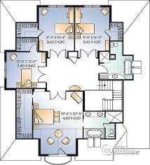plan etage 4 chambres plan de étage maison 4 chambres avec bureau style moderne rustique