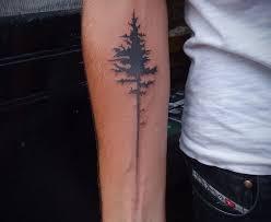 amaizing black bird tree tattoomagz