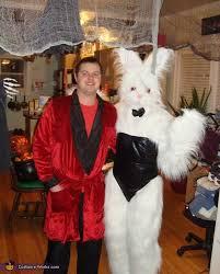 Halloween Costumes Playboy Bunny Hef Playboy Bunny Centerfold Couples Halloween Costume