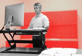 how to use an adjustable standing desk the right way tips