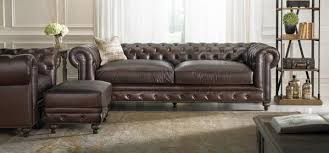 High End Leather Sofas The Dump Furniture On Our Francis Leather Sofa Is