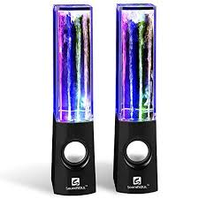 light up portable speaker light up speakers amazon com