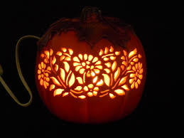 Where To Buy Fall Decorations - autumn carved lighted pumpkin made to order by thesassygourd