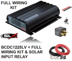 redarc bcdc1225d dual battery isolator system full wiring kit to