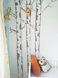 Wall Mural White Birch Trees If You Go Down To The Wood S Today Make Do And Diy