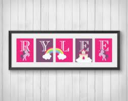 unicorn nursery etsy