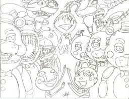 fnaf mangle coloring pages fnaf coloring pages all characters montenegroplaze me