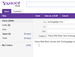 Yahoo Mail How To Use Basic Version Of New Yahoo Mail Technogadge