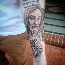 shin tatoos 55 best jesus christ tattoo designs u0026 meanings find your way 2017