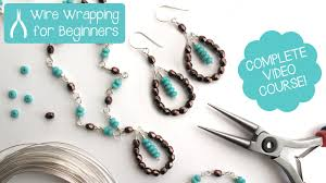wire necklace making images Jewelry making wire wrapping for beginners class teaser promo jpg