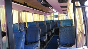 Coach Interior For Cars Volvo Buses Hire In Chennai Car Rental Services From Chennai