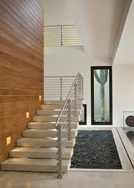 recessed stair lighting home design
