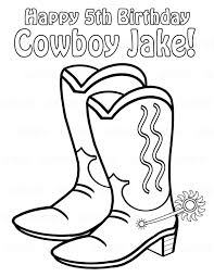 a woman near the pool cowboy boot template coloring sheet cowboy