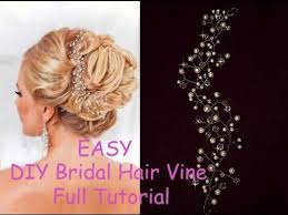hair crystals diy bridal crystals pearls tiara hair vine headband crown bridal