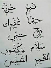 arabic tattoo quotes google search الزخرفه pinterest