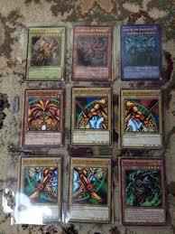 yugioh yugi u0027s battle city deck including original god cards and