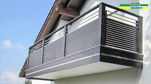 balkone alu alubalkon balkongeländer aus aluminium nie wieder streichen