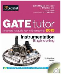gate tutor instrumentation engineering 2015 with cd 4th