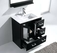 black bathroom vanity set loading zoom black single sink 32 inch