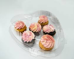 heart shape 6 cupcakes plastic container 15 pack plastic heart shape 6 cupcakes plastic container 15 pack plastic container city