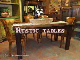 rustic tables a guide to the best coffee and dining tables of 2017
