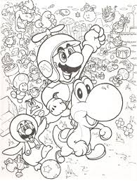 super mario bros coloring pages free large images likes