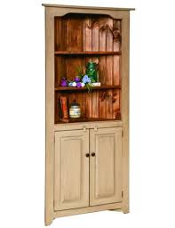 corner kitchen hutch furniture corner china hutch kitchen cabinet country farmhouse amish