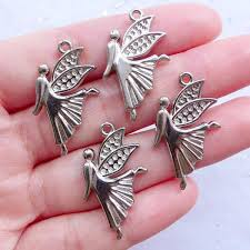 confirmation gift ideas silver angel charms guardian angel pendant baptism jewelry diy