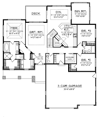 craftsman floorplans dobford craftsman ranch home plan 051d 0684 house plans and more