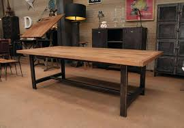 Large Rustic Dining Room Tables by Industrial Rustic Dining Table U2013 Rhawker Design