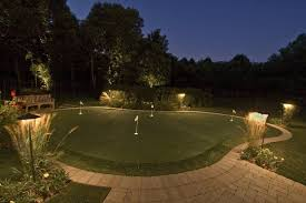 backyard putting green lighting backyard lighted putting green putting green lights lighting for