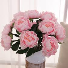 Flower Home Decoration Pu Peony Real Touch Flowers Wedding Party Home Decoration