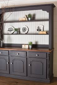 painting cabinets with milk paint colour saturated life painted kitchen hutch with miss mustard seed