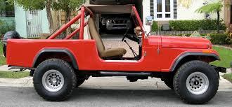 jeep scrambler blue 1983 cj 8s