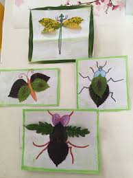 fall nature craft nature crafts insects and leaves