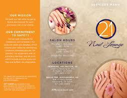 brochure u2013 21 nail lounge