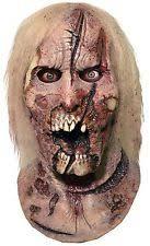 walking dead deer walker zombie halloween full latex mask costume