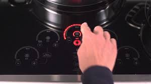 Ge Electric Cooktops Ge Profile Electric Cooktops Glide Touch Controls Youtube